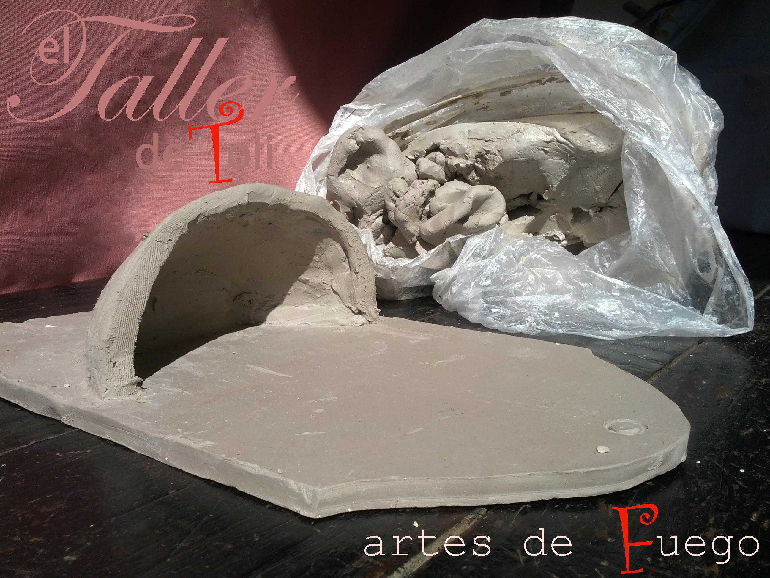 De esta agua has de beber el taller de toli for Arcilla para ceramica
