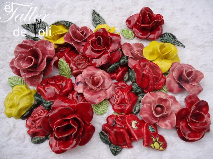 ceramica-flores-decoracion-arcilla-mosaiquismo-esmalte-art-arte-artesania-venecitas-azulejos-alfareria-esmalte-rosas-salta