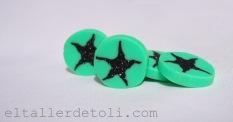Estrellas Clay Polimérica