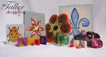 teselas ceramica vitrofusion mosaiquismo artesanal arte craft azulejos losetas salta cursos insumos toli
