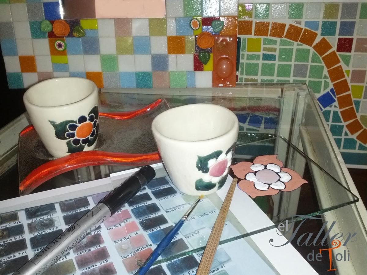 Objetos utilitarios en cerámica