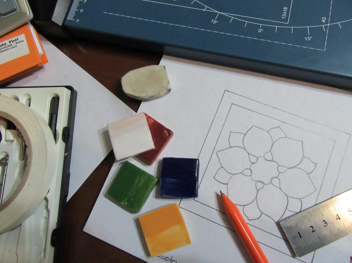 Diseños de tocetos para revestimiento