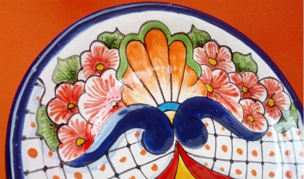 esmaltado de vajilla estilo talavera mexicana en salta