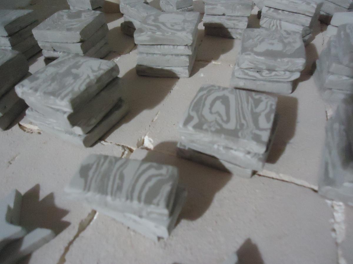 Guardas de ceramica hechas a mano